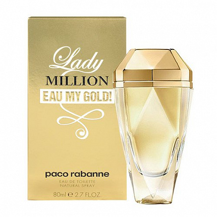 Paco Rabanne Lady Million Eau My Gold EDT 30 ml
